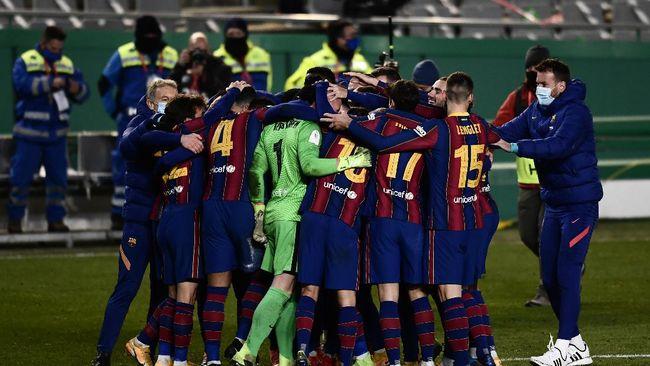 Berikut tiga pemain kunci di balik kesuksesan Barcelona melaju ke final Piala Super Spanyol.