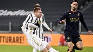 Juventus Singkirkan Genoa Lewat Perpanjangan Waktu