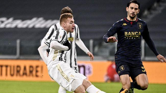 Juventus harus melalui babak perpanjangan waktu untuk mengalahkan Genoa 3-2 pada babak 16 besar Coppa Italia.