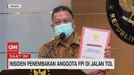 VIDEO: Komnas HAM Serahkan Laporan Investigasi Penembakan FPI