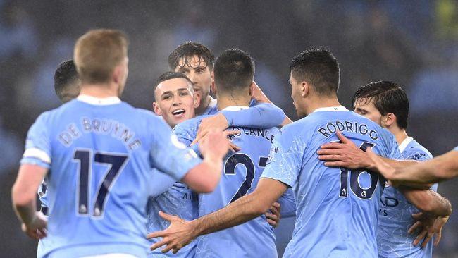 Manchester City mengalahkan Brighton & Hove Albion 1-0 pada pekan ke-18 Liga Inggris di Stadion Etihad, Kamis (14/1) dini hari WIB.