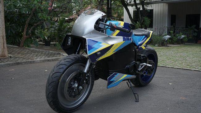 Universitas Budi Luhur memilih konsep desain sepeda motor balap listrik, lain dari kebanyakan produsen yang mengadopsi desain skutik.