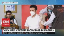 VIDEO: Cerita Emil Dardak Usai Divaksin Covid-19