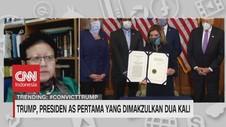 VIDEO: Trump, Presiden AS Pertama Yang Dimakzulkan Dua Kali