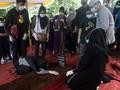 FOTO: Pemakaman Pertama Korban Sriwijaya Air SJ 182
