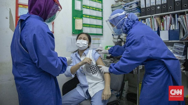 H+3 Vaksinasi Covid-19, Tak Ada Laporan Kasus Pascaimunisasi