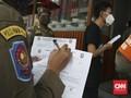 Razia PPKM, Petugas Cekcok dengan Pedagang Coto di Makassar