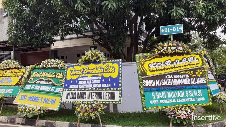 Rumah duka Syekh Ali Jaber