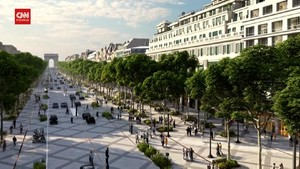VIDEO: Champs-Elysees Paris Bakal Berubah Wajah