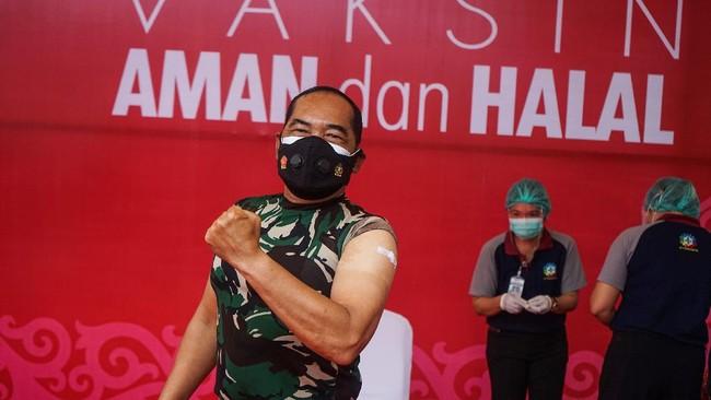 TNI Kerahkan 10 Ribu Prajurit Penyuntik Vaksin Corona