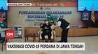 VIDEO: Ganjar jadi Orang Pertama Penerima Vaksin di Jateng