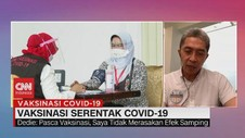 VIDEO: Vaksinasi Serentak Covid-19