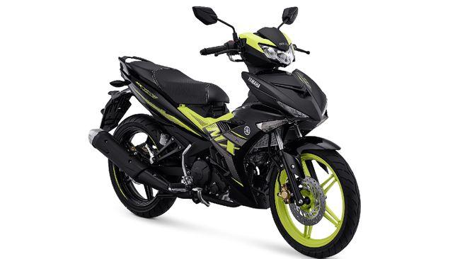 Bebek sport Yamaha MX King sekarang tersedia dalam tiga pilihan warna baru.