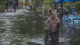 5 Kabupaten/Kota di Kalsel Masih Tergenang Banjir 5-30 Cm