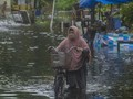 Hari Ketiga, Banjir di Banjarmasin Kalsel Makin Tinggi