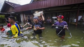 Antisipasi Banjir, PLN Padamkan Listrik Sebagian Besar Kalsel