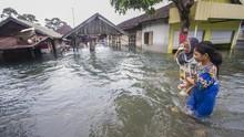 Tiga Wilayah di Kalsel Masih Tergenang Banjir Tinggi