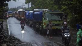 Jembatan Mataraman Putus, Jalan Nasional Kalsel Lumpuh