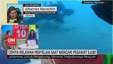 VIDEO: Cerita Relawan Penyelam saat Mencari Pesawat SJ182