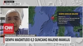 VIDEO: IAGI: Tanda-Tanda Terjadinya Gempa Sulit Diprediksi