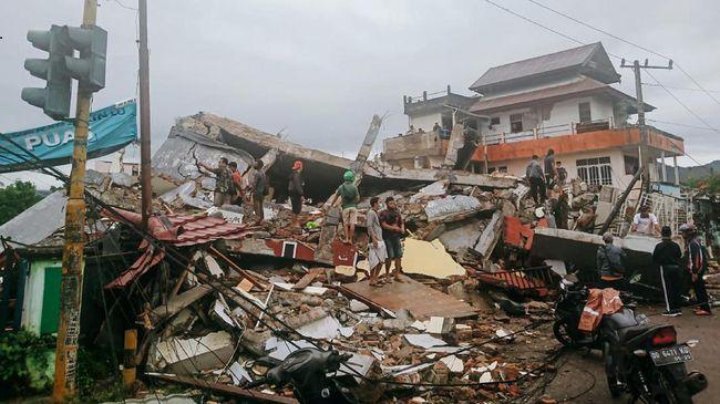 PVMBG ingatkan potensi tanah longsor imbas Gempa yang guncang Mamuju dan Majene Sulawesi Barat.