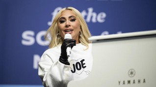 Lady Gaga Akan Nyanyikan Lagu Kebangsaan di Pelantikan Biden
