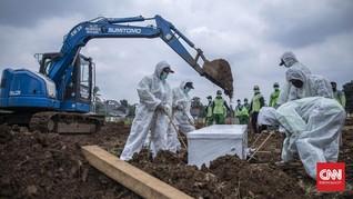 FOTO: Menengok TPU Baru untuk Pemakaman Covid di DKI
