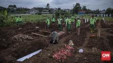 Kuburan Jenazah Covid TPU Srengseng Sawah Tersisa 61 Lubang