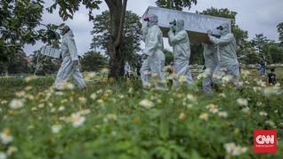 Kematian Covid Pecah Rekor 346 Kasus, Jawa Tengah Tertinggi
