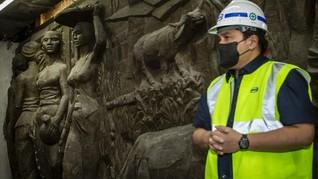 Kronologi Penemuan Relief Era Soekarno di Gedung Sarinah