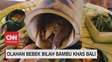 VIDEO: Olahan Bebek Bilah Bambu Khas Bali