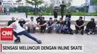 VIDEO: Sensasi Meluncur Dengan Inline Skate