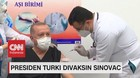 VIDEO: Presiden Turki Divaksin Sinovac