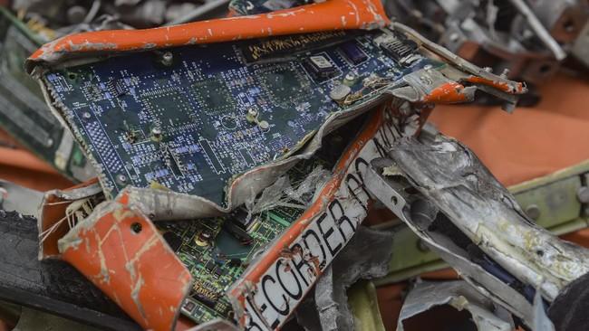 Memori CVR Black Box Sriwijaya Air Masih Belum Ditemukan
