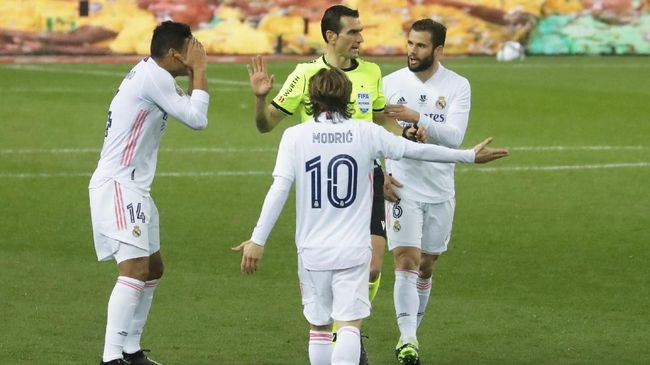 Real Madrid membawa tujuh pemain muda efek badai cedera saat tandang ke Atalanta pada leg pertama babak 16 besar Liga Champions.