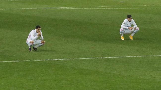 Real Madrid gagal menggeser rival abadi, Barcelona dari posisi kedua klasemen sementara Liga Spanyol.