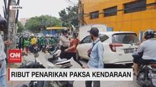 VIDEO: Ribut Penarikan Paksa Kendaraan oleh Debt Collector