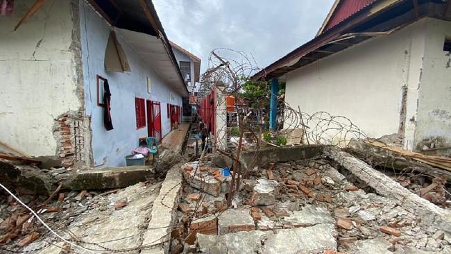 Gempa Mamuju Rusak Rutan, Petugas dan Narapidana Terluka