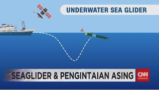 VIDEO: Seaglider & Pengintaian Asing