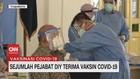 VIDEO: Sejumlah Pejabat DIY Terima Vaksin Covid-19