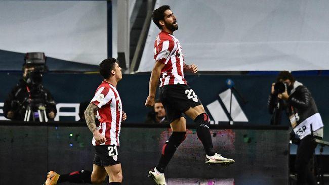 Bintang Athletic Bilbao Raul Garcia jadi biang keladi batalnya El Clasico di final Piala Super Spanyol.