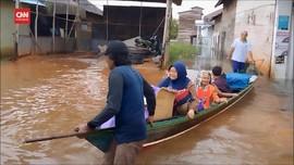 VIDEO: Banjir Kepung Sebagian Wilayah Kalimantan Selatan