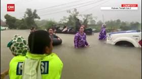 VIDEO: 4 Kabupaten DI Kalimatan Selatan Terendam Banjir