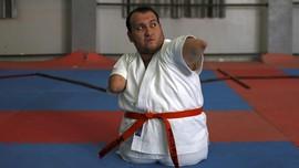 Terlahir Tanpa Lengan dan Kaki, Pria Gaza Taklukan Karate