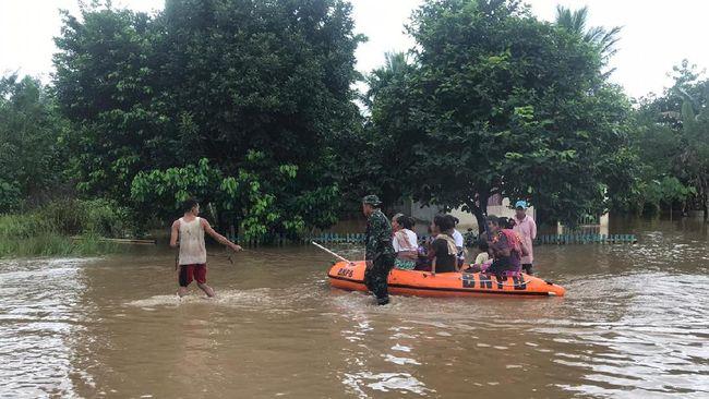 Hasil analisa BMKG melaporkan hujan lebat yang turun di Sulawesi Utara memicu terjadinya banjir di Manado dan longsor di Kabupaten Minahasa.