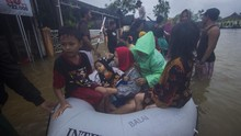 Kalsel Dikepung Banjir, Pakar Singgung Hujan Ekstrem