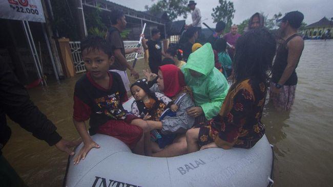 Balai Besar Teknologi Modifikasi Cuaca menyebut hujan ekstrem, dengan curah hujan 270 mm, berkontribusi pada banjir di Kalimantan Selatan.
