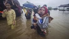 Dua Kecamatan di Kalsel Terendam Banjir Hingga 2 Meter