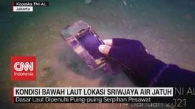 VIDEO: Begini Kondisi Bawah Laut Lokasi SJ182 Jatuh