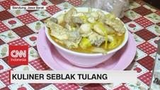 VIDEO: Kuliner Seblak Tulang di Bandung